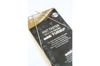 (Size US9/5.5mm) - Addi Turbo 41cm Circular Knitting Needles by SKACEL Size 9