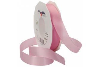 Morex Ribbon Europa Taffeta Ribbon Spool, 2.5cm by 55-Yard, Light Pink