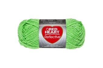 (Neon Green) - Red Heart Reflective Yarn