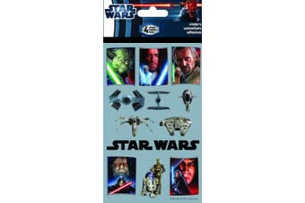 Sandylion Star Wars The Saga Standard Stickers, 4-Sheet
