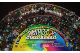 Cousin Rainbow Glass Beads