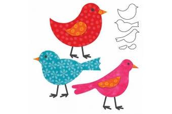 (Birds) - Go! Fabric Cutting Dies It Fits!-Birds