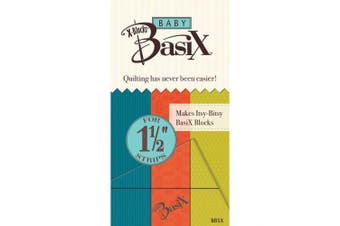 Colonial Needle BBSX Baby Basix by X-Blocks Template, 3.8cm