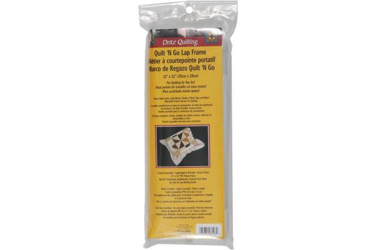Dritz Quilting Quilt-N-Go Lap Frame 28cm x 28cm