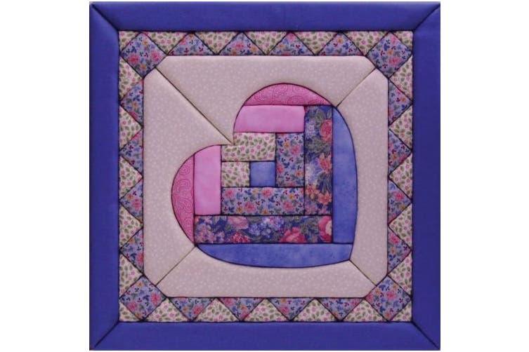 Quilt Magic 30cm by 30cm Heart Kit