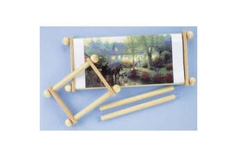 Handi Clamp Scroll Rods with Clamps, 60cm