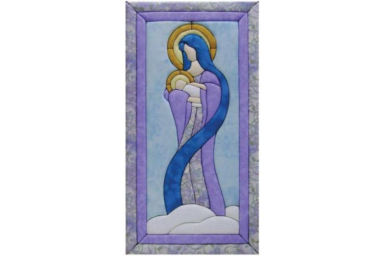 Quilt Magic 25cm by 48cm Mary and Baby Jesus Kit