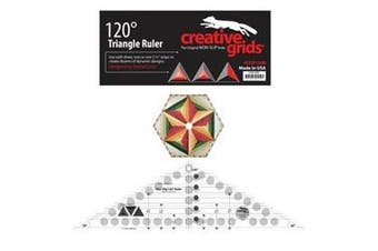 Creative Grids 120 Degree Triangle Ruler cgr120r