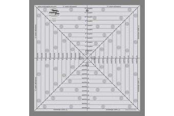Creative Grids 30cm - 1.3cm x 30cm - 1.3cm Square It Up and Fussy Cut Ruler