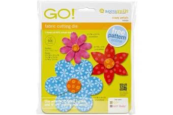 AccuQuilt GO! Fabric Cutting Dies, Crazy Petals