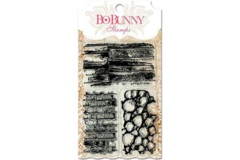 Bo Bunny - Essentials Collection - Clear Acrylic Stamp - Wall to Wall Textures