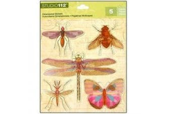 K & Company Insects Grand Adhesions Stickers