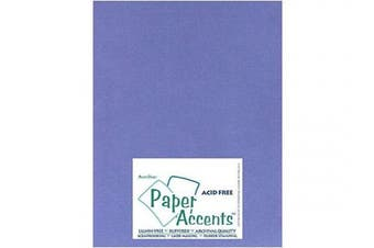 Accent Design Paper Accents Cdstk Smooth 8.5x11 80# Periwinkle