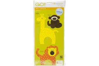 GO! This & That Fabric Cutting Dies-GO! Zoo Animals