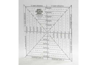 Creative Grids 17cm X 17cm Square It up & Fussy Cut Ruler cgrsq6