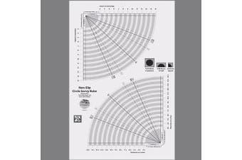 Creative Grids Circle Savvy Quilt Ruler (CGRSAV1)