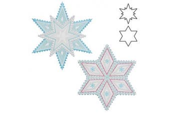 Sparkle-Snowflakes Die for the Accuquilt GO! and Accuquilt GO! Baby! 55093