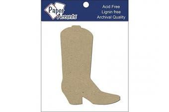 Accent Design Paper Accents 8pc Cowboy Boot ChipShape CowboyBoot