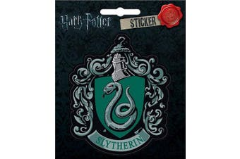 Ata-Boy Harry Potter Slytherin Crest 10cm Full Colour Sticker