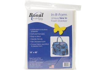 (Original Version) - In-R-Form Unique Sew In Foam Stabiliser-46cm x 150cm White 1/Pkg