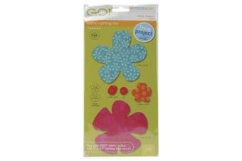 AccuQuilt GO! Fabric Cutting Dies; Funky Flower