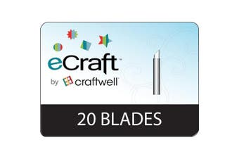 Craftwell Ecraft Replacement Blades, 20 Per Package