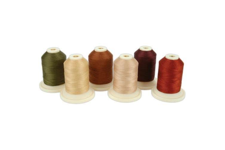 (Home & Garden Warm & Cozy) - Thimbleberries Cotton Thread Collection 500yd 6/Pkg