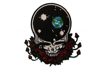Grateful Dead Skull Roses Steal your Universe Patch p1227