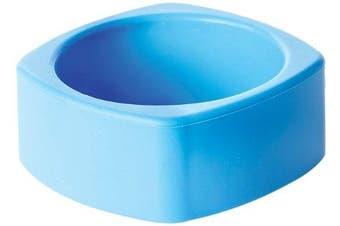 (Blue) - Bumkins Nixi Quadro Silicone Teething Bracelet, Blue