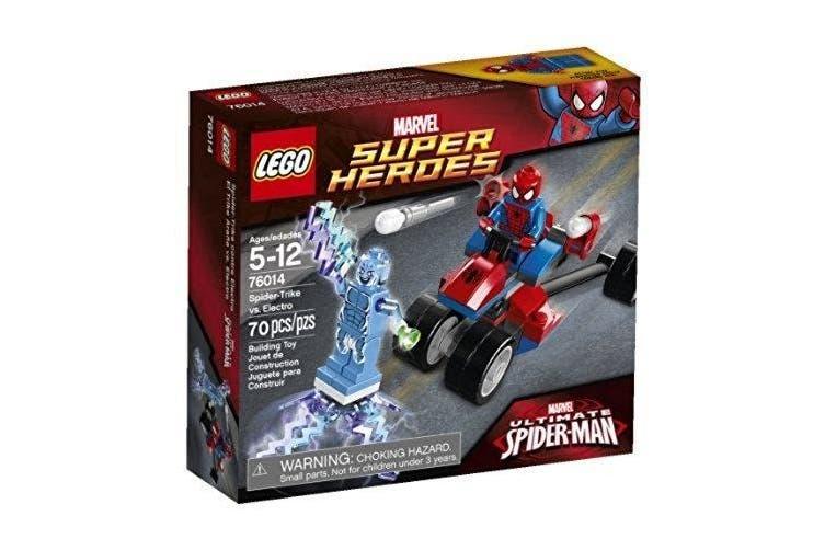 (1, classic) - LEGO Superheroes 76014 Spider-Trike vs. Electro