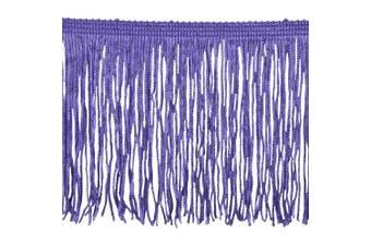 Chainette Fringe P-7044 100-Percent Polyester 10cm Fringe Embellishment, 10-Yard, 26 Purple