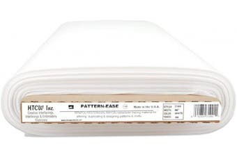 Pattern Ease (1 yard cut) Non Woven Tracing Material For Altering, Duplicating, Designing Patterns & Crafts