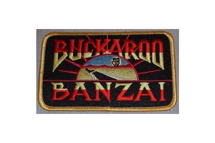Buckaroo Banzai Movie Name Embroidered Logo PATCH