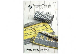 Atkinson Designs Knit, Purl, and Roll Pattern