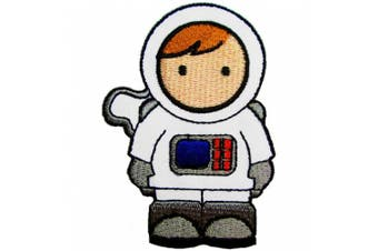 Space Boy, Iron on Patches for Kids