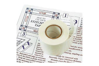 Stitchery Tape For Framing -2.5cm - 1.3cm X30' Roll
