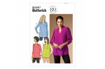 (8-10-12-14-16) - Butterick Patterns B5997 Misses/Women's Top Sewing Template, Size B5