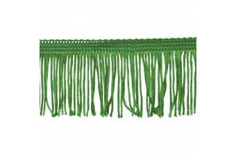 Chainette Fringe 10-Yard Polyester Fringe Rolls for Arts and Crafts, 5.1cm Long, Hunter