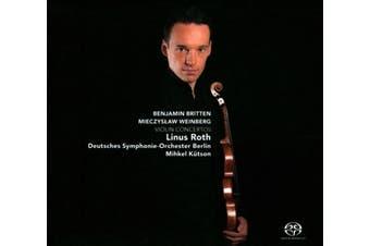 Benjamin Britten, Mieczyslaw Weinberg: Violin Concertos