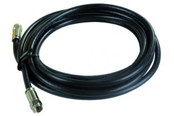 (3.7m) - JR Products 47965 3.7m RG6 Cable with Compression Ends