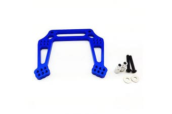 (Front Shock Tower, Blue) - Atomik RC Alloy Front Shock Tower, Blue fits the Traxxas 1/10 Slash and Other Traxxas Models - Replaces Traxxas Part 3639