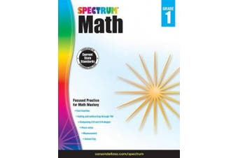 Spectrum Paperback Math Book, Grade 1, Ages 6-7