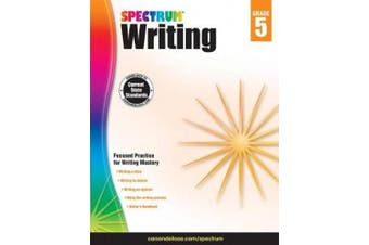 Spectrum Paperback Writing Book, Grade 5, Ages 10-11