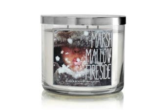 Bath Body Works Marshmallow Fireside 3-Wick Scented Candle