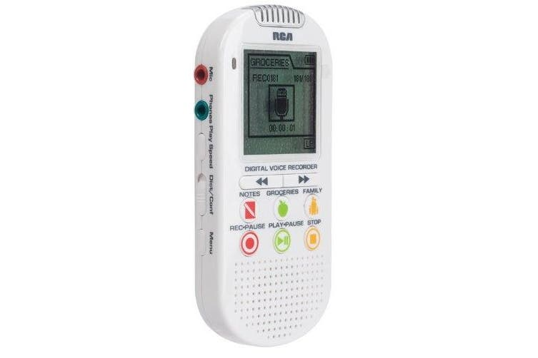 RCA VR5210 2GB Digital Voice Recorder