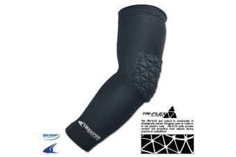 (Black & Youth) - Champro Arm Sleeve With Elbow Padding
