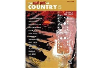 The Giant Book of Country Sheet Music: Easy Piano (Giant Book of Sheet Music)