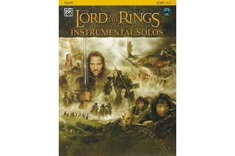 The Lord of the Rings Instrumental Solos: Flute: The Motion Picture Trilogy: Level 2-3 [With CD]