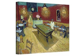 (36cm  x 46cm ) - The Night Cafe in the Place Lamartine in Arles Gallery Wrapped Canvas By Vincent Van Gogh