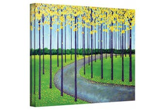 (36cm  by 46cm ) - Art Wall 'In The Park' Gallery Wrapped Canvas Artwork by Herb Dickinson